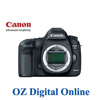 New Canon EOS 5D Mark III MK 3 DSLR Camera Body 1 Yr Wty