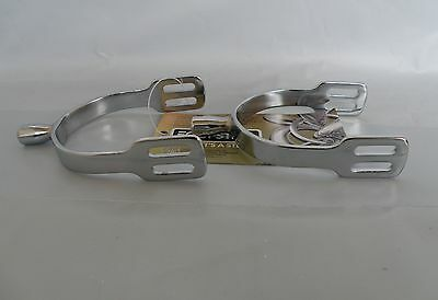 Equisteel Childs Prince of Wales Spurs - Chrome Plated Pair - NEW