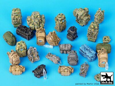 Black Dog 1//72 German Soldier/'s Equipment and other Accessories Set WWII T72033