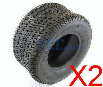 Two 13X6.50-6 Turf Saver Tech Ii Tires Lawn Tractor Mower 2 Ply H Tr50-2Tires