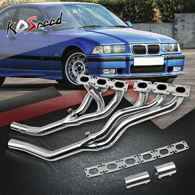 Stainless High Flow Racing Manifold Header/exhaust Pipe 92-98 Bmw E36 3 Series