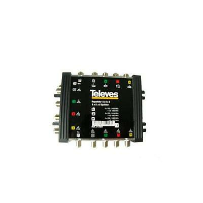 Multiswitch Divisore Televes F 5X5X5 717601 5 In 10 Out Terrestre Satellitare