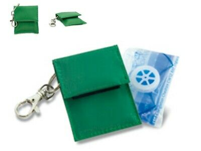 CPR Resuscitation Resus Face Shield Key Ring with filter **OFFER**