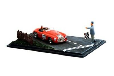 "Ferrari 166MM #22 Chinetti-Selsdon ""Le Mans"" 1949 Diorama (Art Model 1:43/ 909)"