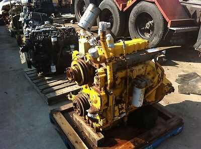 Caterpillar 3304 Engine Used Cat 3304 Engine