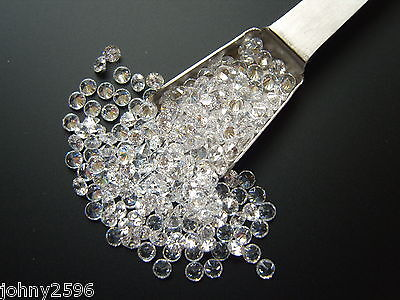 3.5mm white round cubic zirconia 6 stones for £1.10
