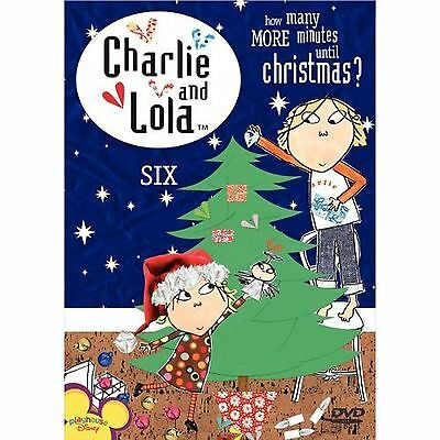 Charlie & Lola: Volume 6: How Many Minutes Until Christmas (DVD, 2007) LN