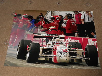 Gil De Ferran Hand Signed Photo Large 1.