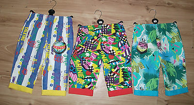 Girl/Boy Patterned Crop Play/Beach Junior Summer Trousers 6-12 Months1,2,3 Years