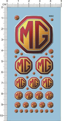 Decals MG for 1/24 or other scales(5062)