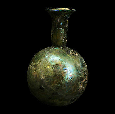 Aphrodite- Ancient Roman Free Blown Globular Flask