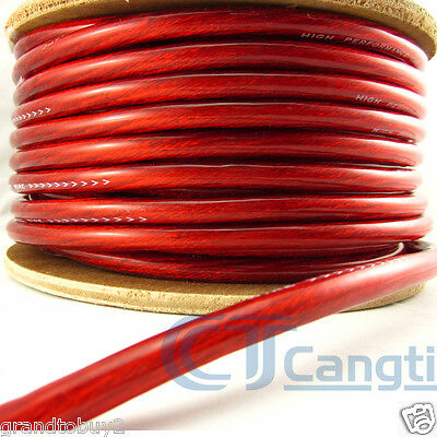 4 Gauge AWG Car Subwoofer AMP Wiring Wire Power Ground Cable 1 meter length NEW