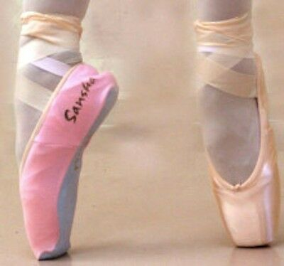 SANSHA PSOP Slip on pocket cover for Pointe & Demi pointe shoes keep them clean