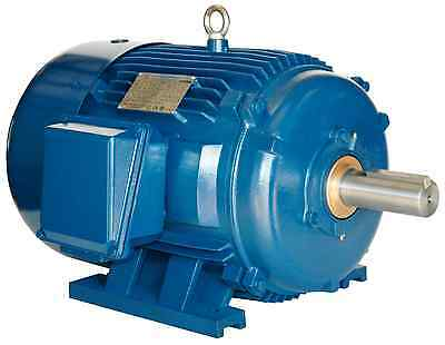 10 hp electric motor 256t 3 phase 1200 rpm premium efficient severe duty