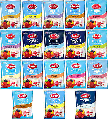 Easiyo Yogurt Mixes Pick N' Mix 18 Delicious Flavours to Choose From