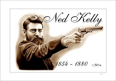 Ned Kelly   Aussie  Legend       Limited Edition