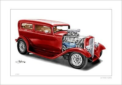 34' Ford  Tudor  Hotrod      Limited Edition