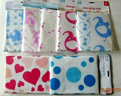 Baby Nappy Changing Mat Home Shopping Travel Holiday Sponge Padded, Eyes, Bag