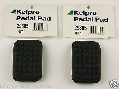 Ford Festiva Brake & Clutch Pedal Pad Kit Suits All Wa, Wb, And Wf Models
