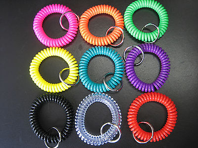 One Spiral Wrist Coil Key Chain / High Quality / $2.79 Flat Shipping for any AMT