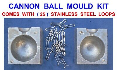 Sea Fishing Ball Boat Lead Weight Mould TFT 24 oz