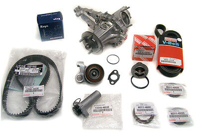 Complete Timing Belt Water Pump Kit  IS300 GS300 GENUINE & OE Manufacture Parts