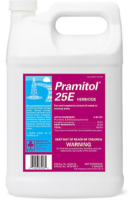Pramitol 25E Bare Ground Herbicide ( 128 oz. ) Prometon Total Vegetation Killer