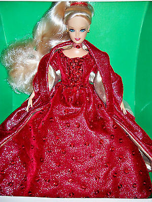 "Gorgeous Jakks Pacific 11.5"" Barbie Fashion Doll Magical Holiday In Box"