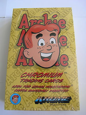Archie Chromium by Krome Production 1996 Box of Cards