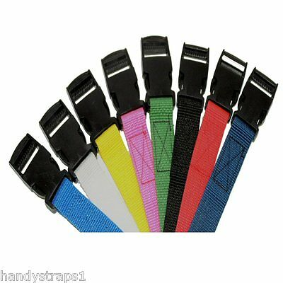 "25mm  Adjustable Webbing Belt ( 1"" ) any colour Quick Release"