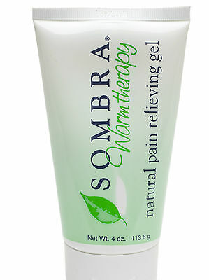 4 oz.Tube of SOMBRA WARM THERAPY ALL NATURAL PAIN RELIEVING Gel (FREE SHIPPING)
