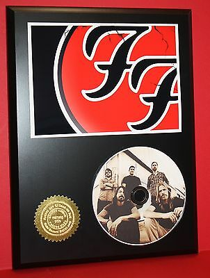 Foo Fighters Picture Disc Collectible Rare Award Quality Plaque Gift