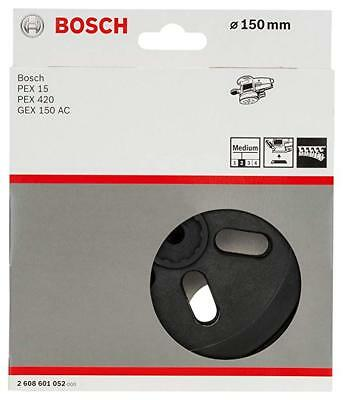 bosch 125mm velco backing pad pex270 pex 270 ae 2608601159 picclick uk. Black Bedroom Furniture Sets. Home Design Ideas