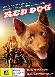 Red Dog - Inspiring Kelpie Legendary True Story Australian Film Dvd