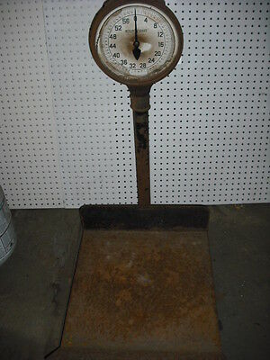 VINTAGE 1930s LARGE DETECTO RAILROAD FREIGHT STATION  SCALE 3FT  WORKING