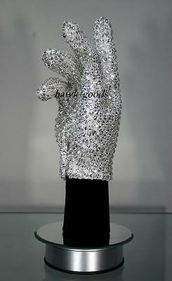 Michael Jackson Billie Jean Glove SHINNING RHINESTONE For Both hand