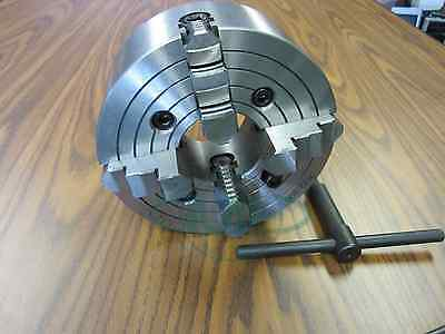 "8"" 4-JAW LATHE CHUCK with independent  jaws #0804F0- NEW"