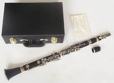 Excellent  New C key clarinet Ebonite Good material and sound