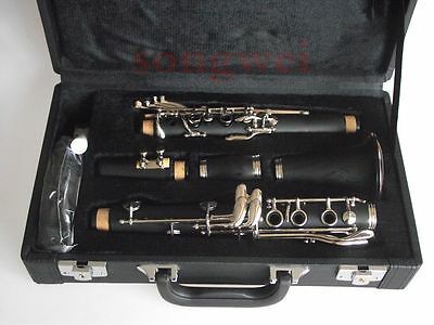 Excellent  New A key clarinet Ebonite Good material and sound