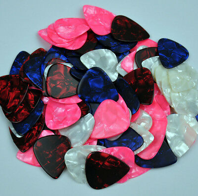 50 pcs 1.5mm Heavy Blank guitar picks Plectrums Celluloid For Electric Guitar