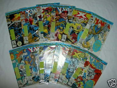 "X-Men. ""x-Cutioner's Song"". Complete 12 Comic Story.all Sealed + Trading Cards"