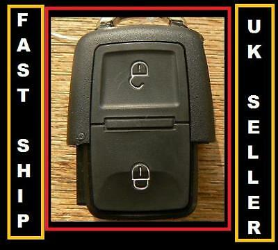 For Seat Altea Alhambra 2 Button Remote Key Fob Case Shell Uk Seller
