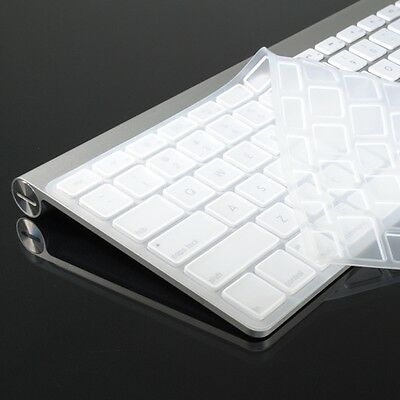WHITE Silicone Skin for APPLE Wireless Keyboard (Not for New Magic Keyboard)