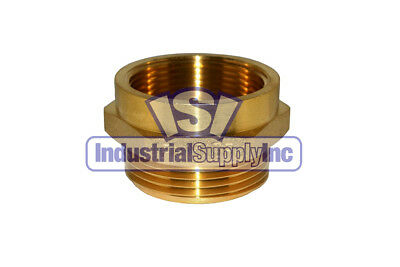 "Fire Hydrant Adapter 1-1/2' FPT x 1-1/2"" NST (M)"