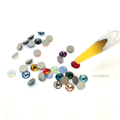 Rhinestone stones wax picker pen tools for Crafting / nail art x 2 pieces
