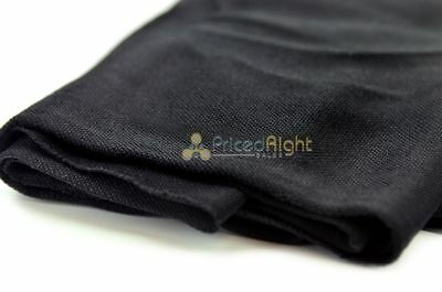 """Black Professional Quality Speaker Front Grill Cloth Fabric Mesh 66"""" X 36"""""""