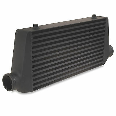 "Black Edition 2.5"" Custom Race Rally Sport Diy Front Mount Intercooler Core Fmic"
