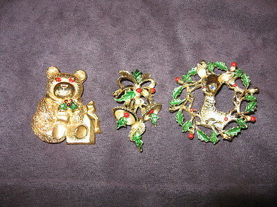 3 Gerry,s christmas pins G20