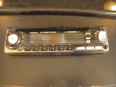 J V C  RADIO FACEPLATE ONLY MODEL  KD-S737    KDS737  TESTED GOOD  GUARANTEED