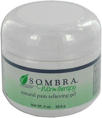 2 oz. Jar of SOMBRA WARM THERAPY ALL NATURAL PAIN RELIEVING Gel I